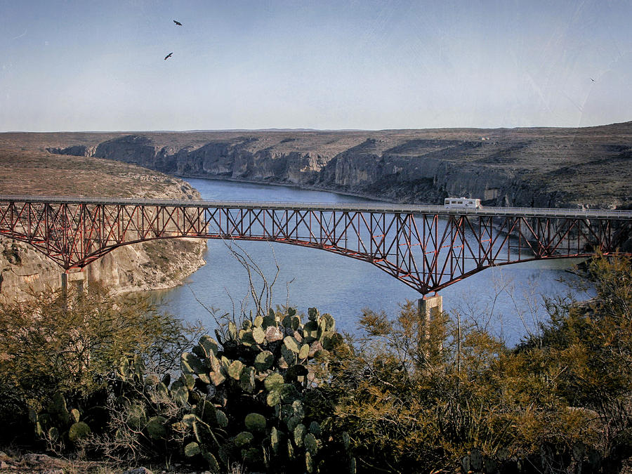 Devils River Photograph - Devils River Hi Bridge by Charles McKelroy
