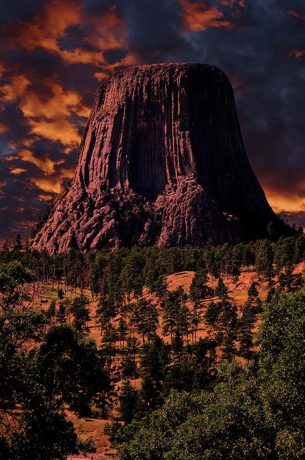 Devils Tower Sunrise by Scott Read