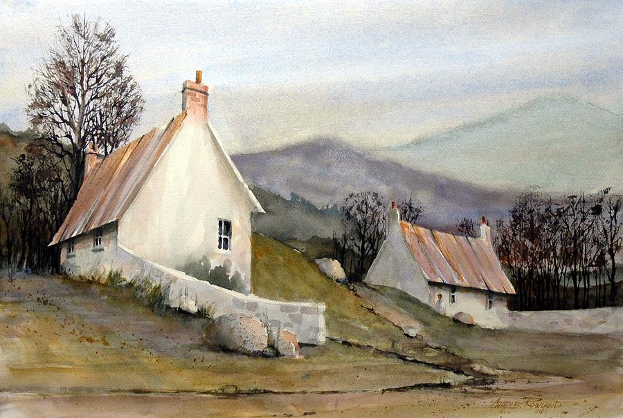 England Painting - Devonshire Cottage I by Charles Rowland