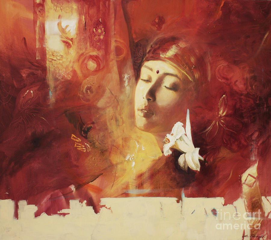 Devoted Painting - Devoted by Lin Petershagen