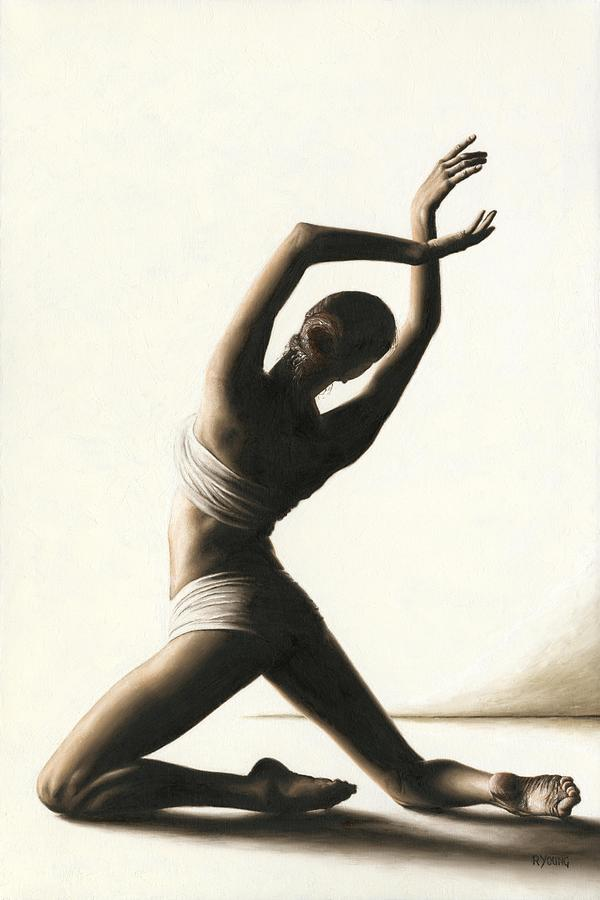 Dancer Painting - Devotion To Dance by Richard Young