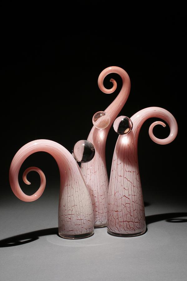 Sculpture Glass Art - Dewds by Matt Robertson