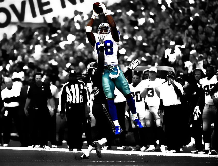Dez Bryant Mixed Media - Dez Bryant by Brian Reaves