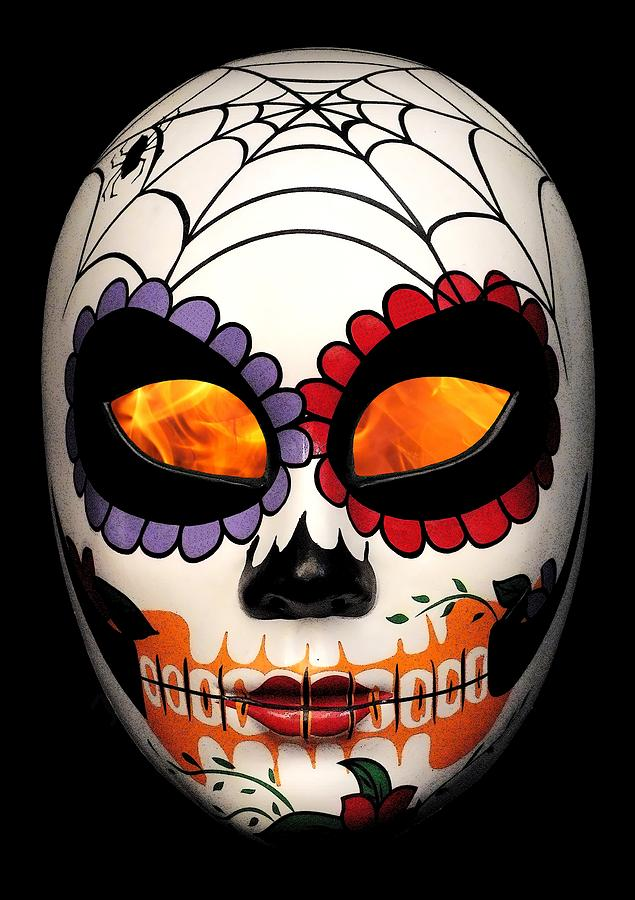 Day Of The Dead Photograph - Dia De Los Muertos by Guy Pettingell