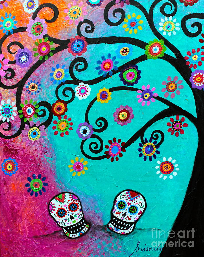 Dia  De los Muertos Special Couple by PRISTINE CARTERA TURKUS