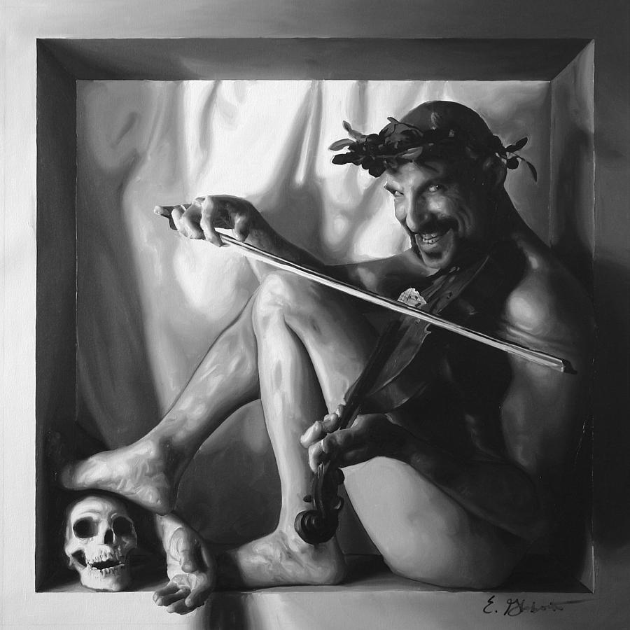 Male Painting - Diabolic by E Gibbons