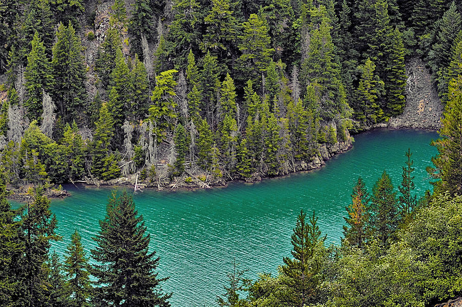 Turquoise Photograph - Diabolo Lake North Cascades Np Wa by Christine Till