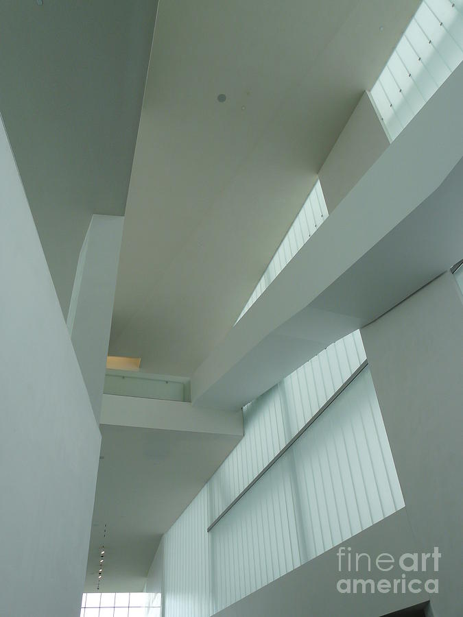 Architecture Photograph - Diagonal Perspective by Donna McLarty