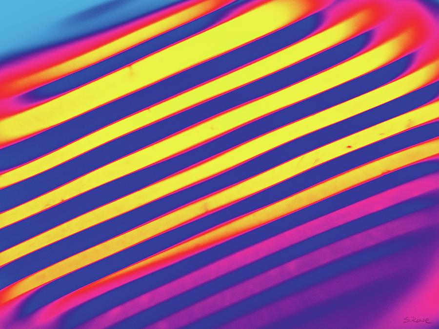 Diagonal Reflection - Rainbow by Shawna Rowe