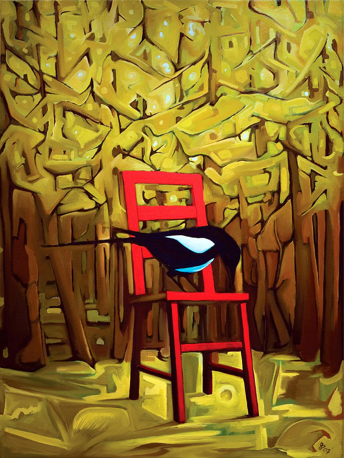 Surreal Painting - Diakinesis Timberland by John Parnell