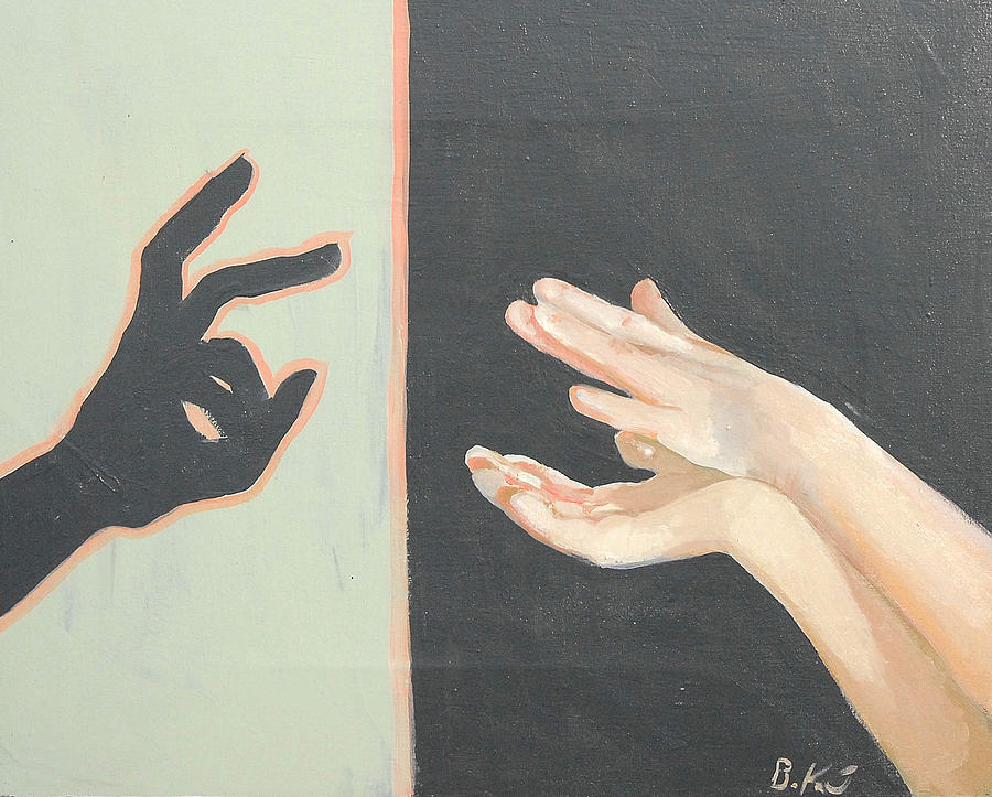 Dialog Painting - Dialog by Bettina Kusel