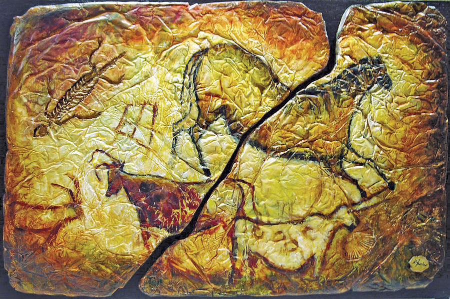 Caves Relief - Dialogue Interrompu by Denise Faucher