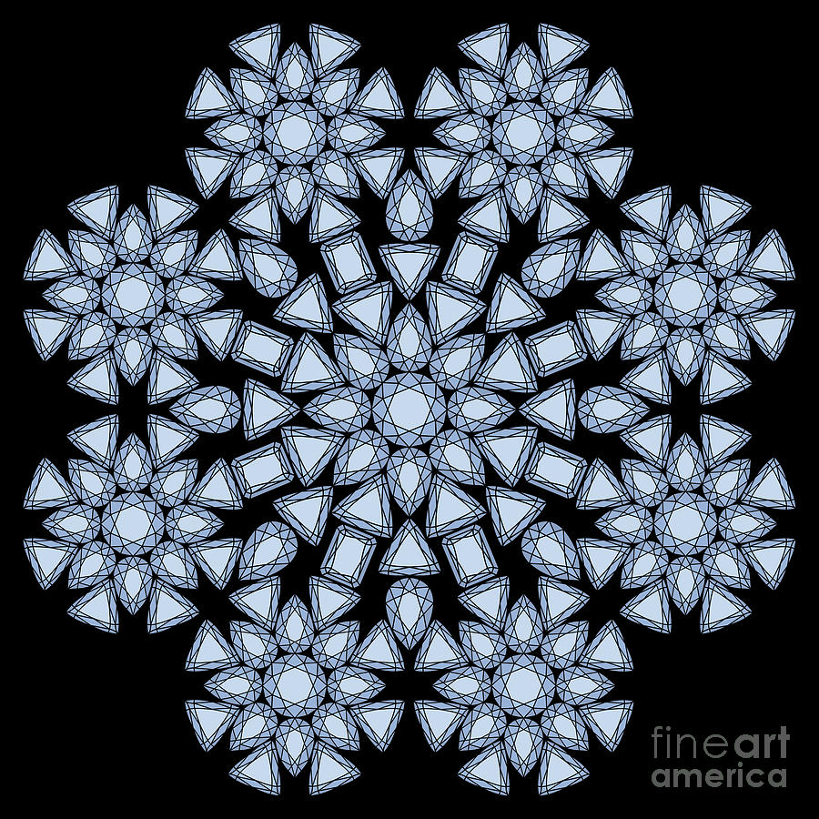 Diamond Mandala by Heather Schaefer