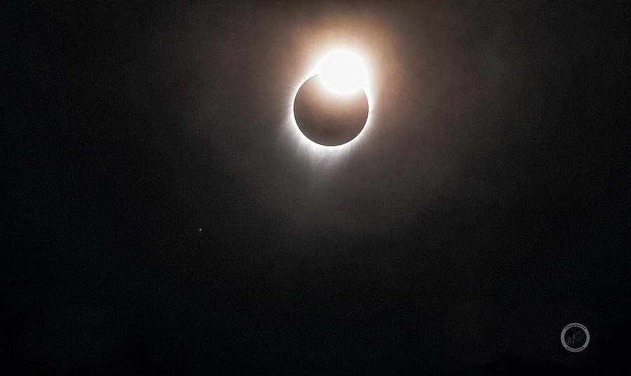 Total Solar Eclipse Photograph - Diamond Ring #2 Aug. 21, 2017 by Kent Duryee