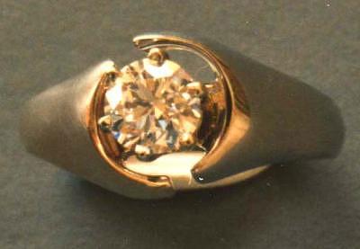 Diamond Ring Jewelry by Tim Haley