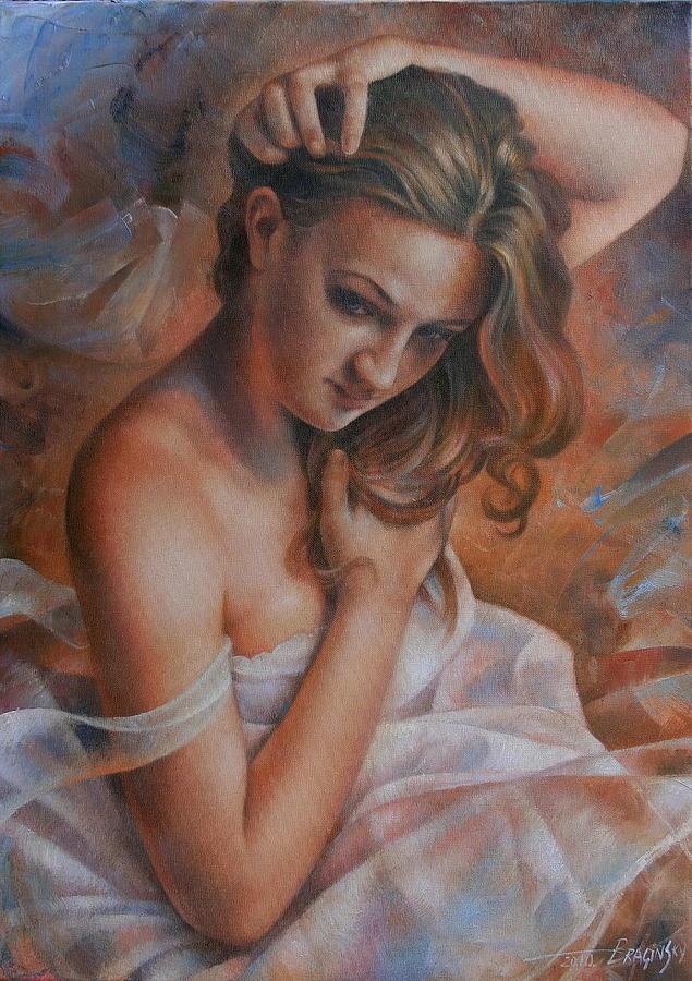 Nude Painting - Diana 2 by Arthur Braginsky