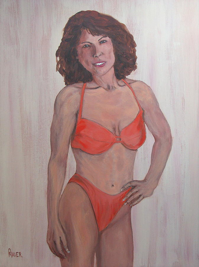 Portrait Painting - Diane by Pete Maier