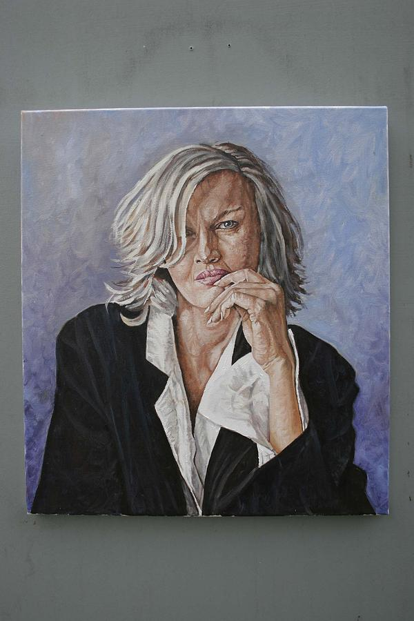 Portrait Painting - Dianne by Jason  Swain