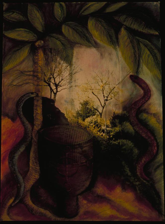 Haiti Painting - Diaspora by Barbara Nesin