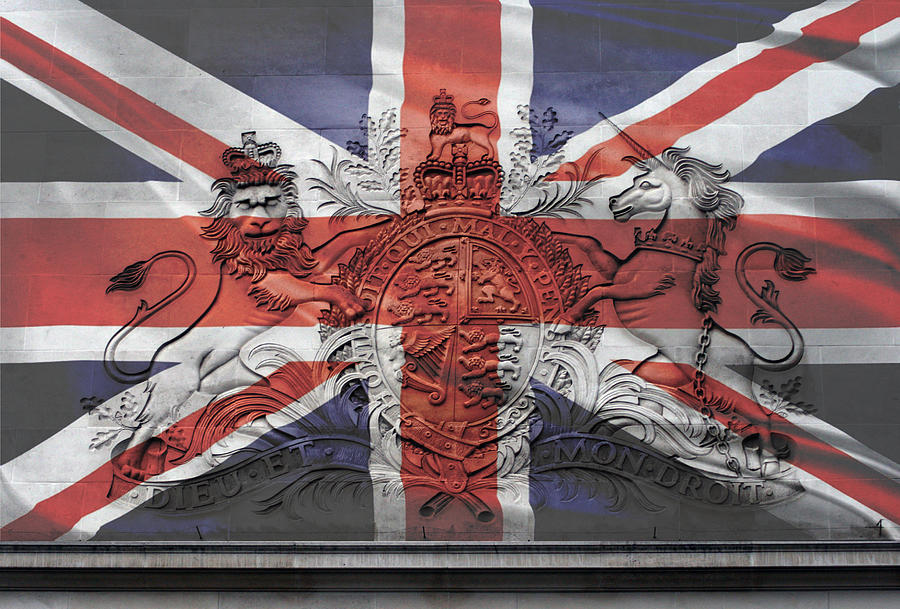 Union Jack Painting   Dieu Et Mon Droit   The Union Jack By Anthony Verburgt Part 90