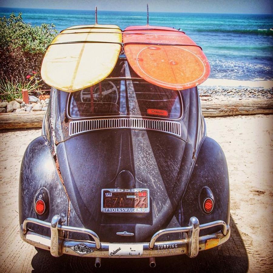 Surf Photograph - Surf Bug At Sano by Hal Bowles