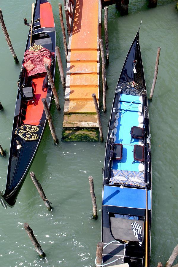 Venice Photograph - Different View by Nina Simeonova