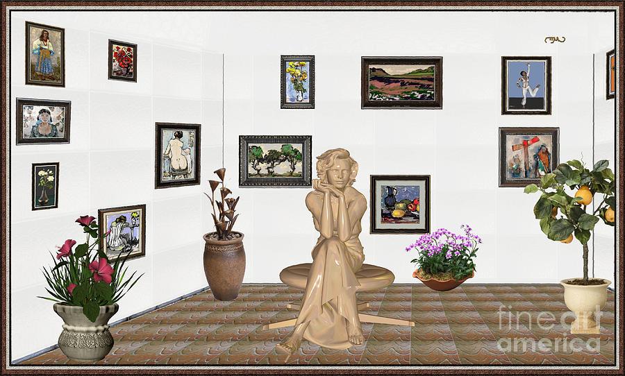 People Mixed Media - digital exhibition _ Memories of childhood 6 by Pemaro