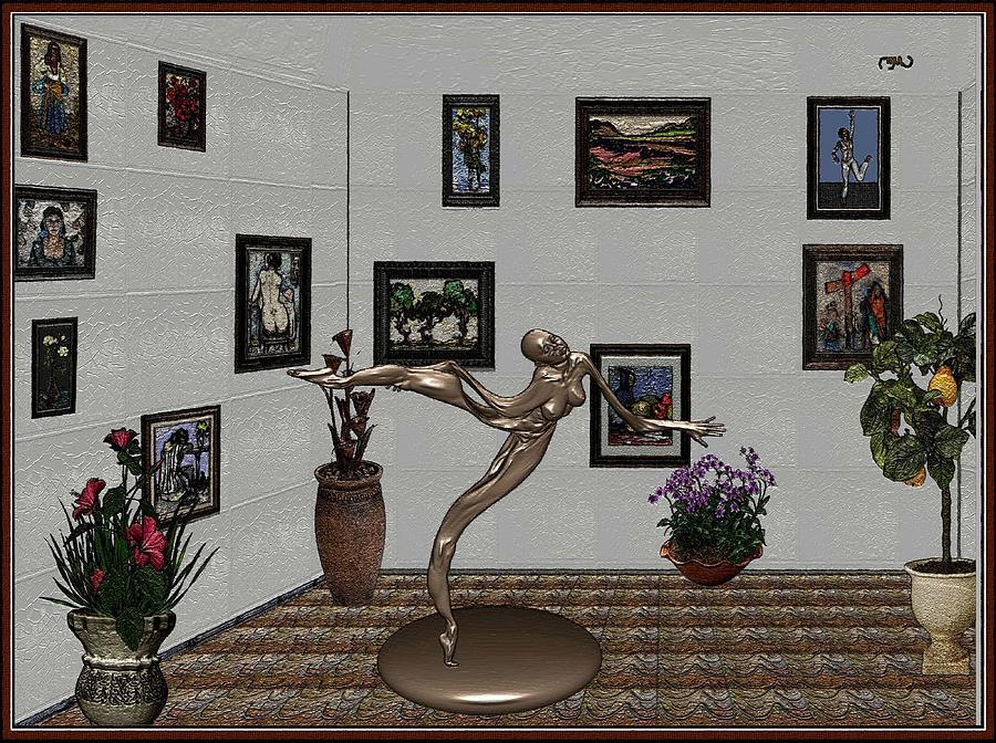 People Painting - Digital Exhibition 25 by Pemaro