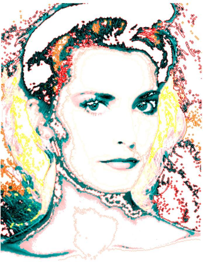 Digital Digital Art - Digital Self Portrait by Kathleen Sepulveda