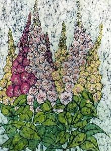 Digitalis Painting by Lynda Wilson
