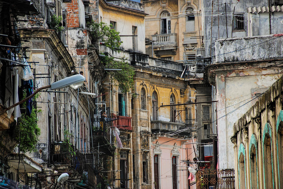 Dilapidated Houses Photograph by Marie Schleich