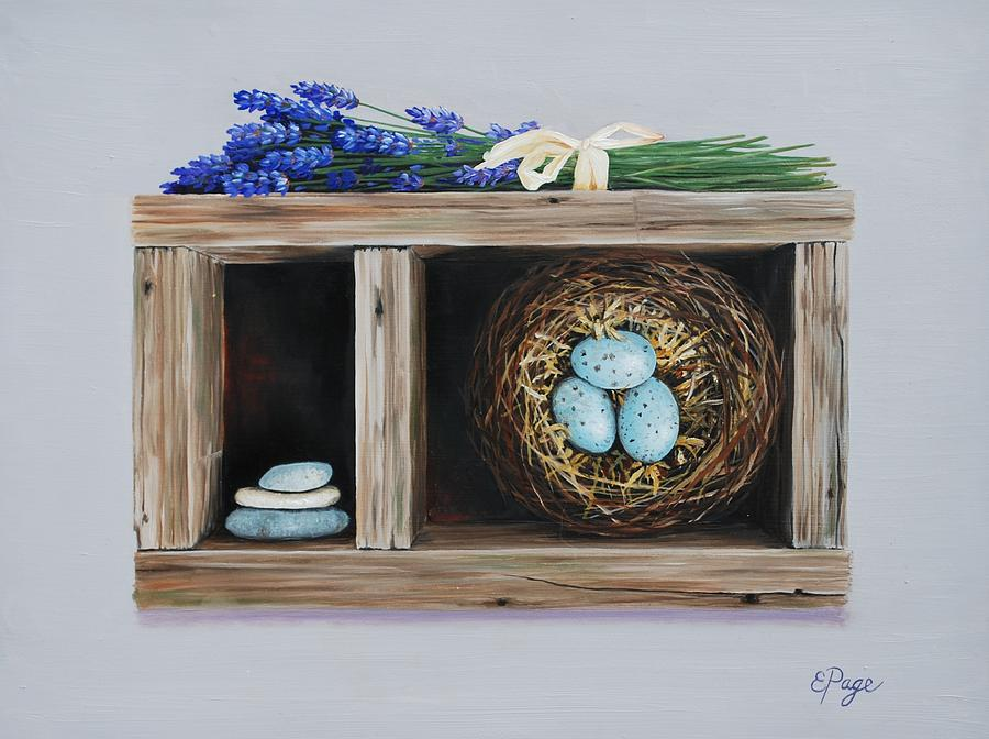 Nest Painting - Dilly Dilly by Emily Page