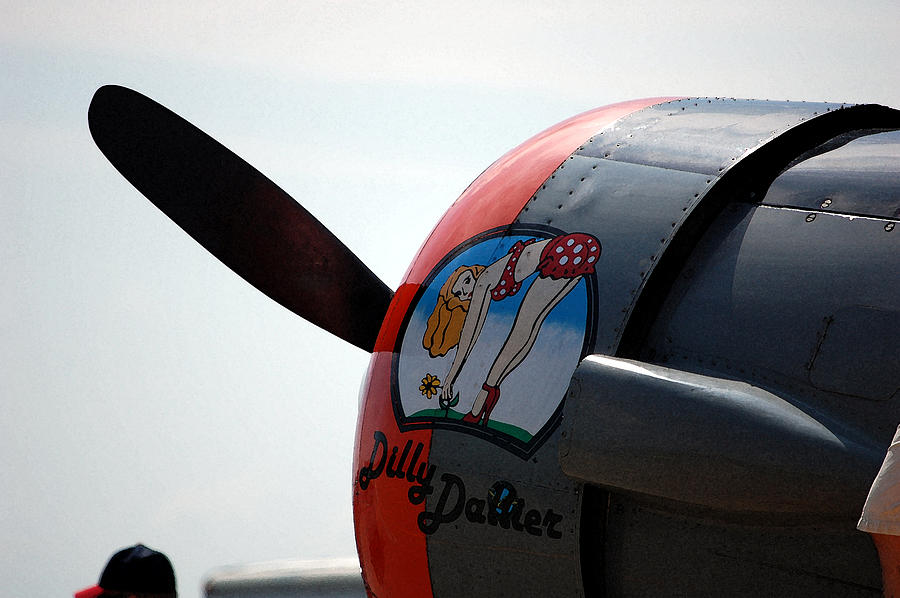 Propeller Photograph - Dillydallier by Jame Hayes