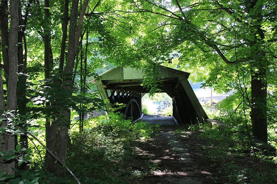 Dimmsville Covered Bridge by Wayne Toutaint