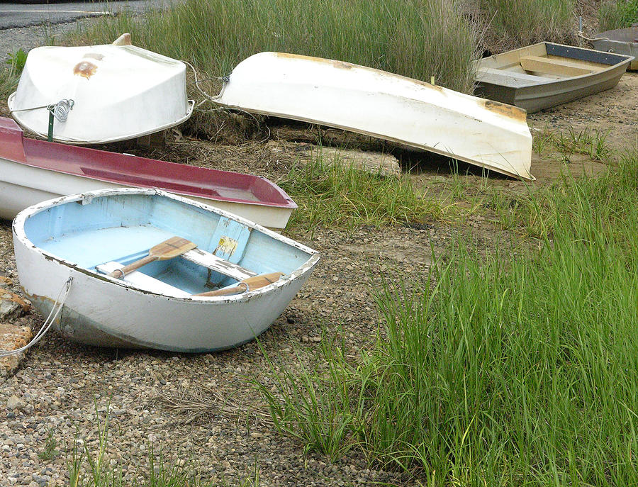Dingy Photograph - Dinghy by Peter Williams