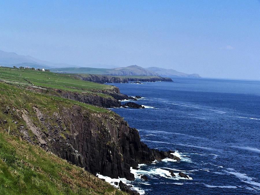 Irish Photograph - Dingle Coast Near Fahan Ireland by Teresa Mucha