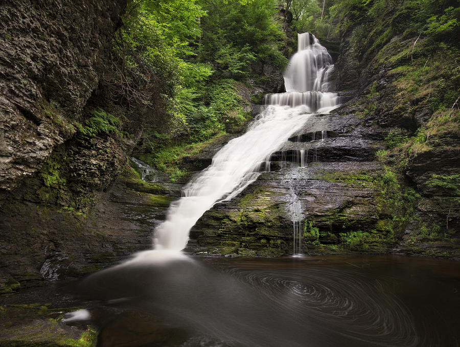 Dingmans Falls by Yelena Rozov