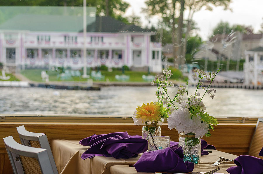 Dining Aboard the Miss Lotta by Maureen E Ritter