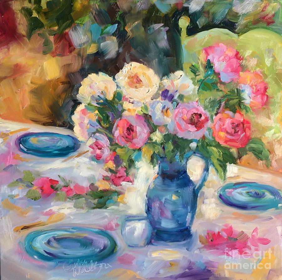 Dining Alfresco by Patsy Walton