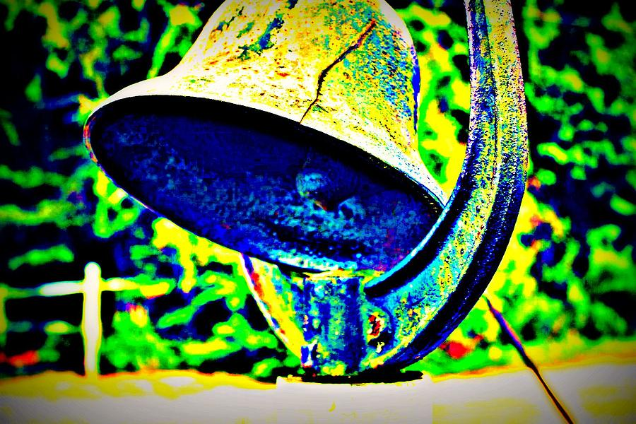 Bell Photograph - Dinner Bell by Jill Tennison