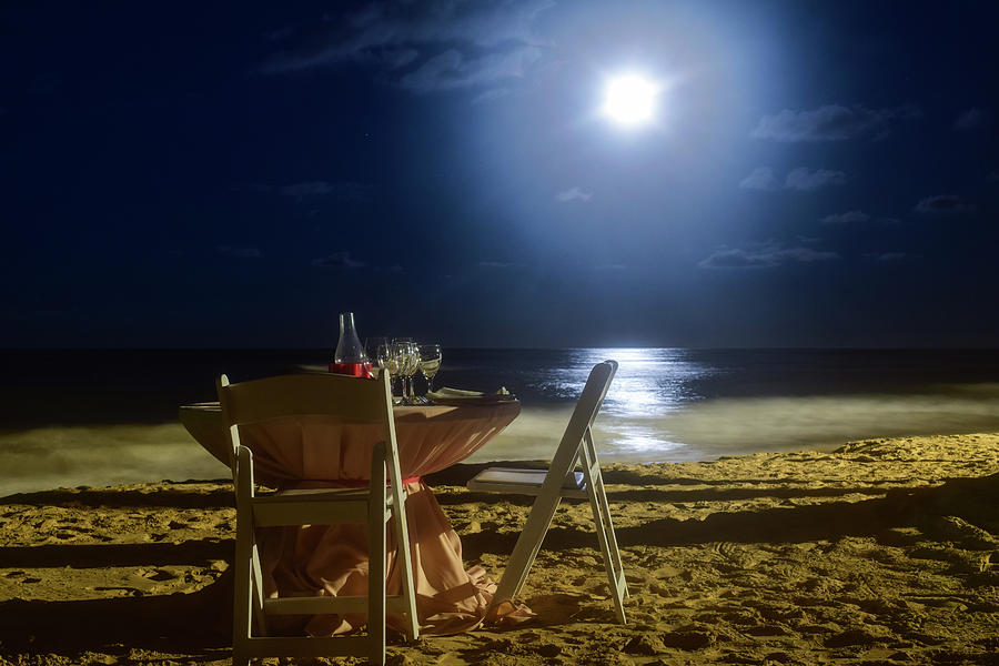 Dinner for Two in the Moonlight by Nicole Lloyd