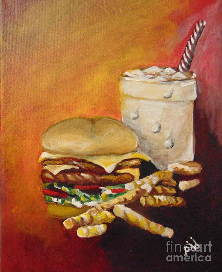 Dinner Time by Saundra Johnson