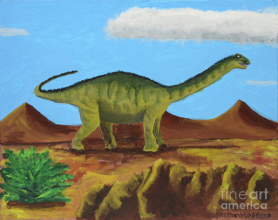 DIno Roams by Artists With Autism Inc