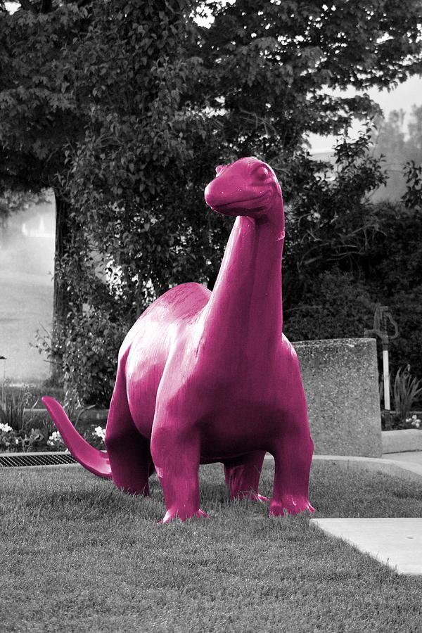 Bubblegum Pink Dino