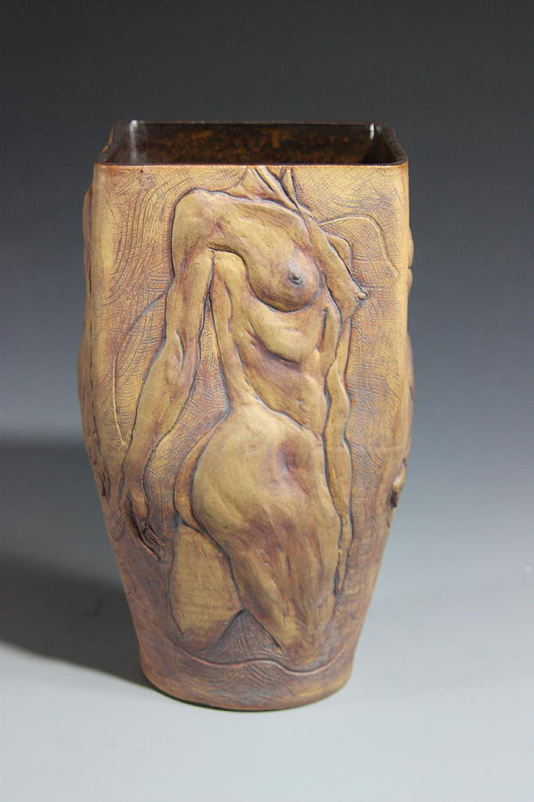 Female Relief - Dionysos Inspirer Of Ritual Ecstasy IIi by Dan Earle