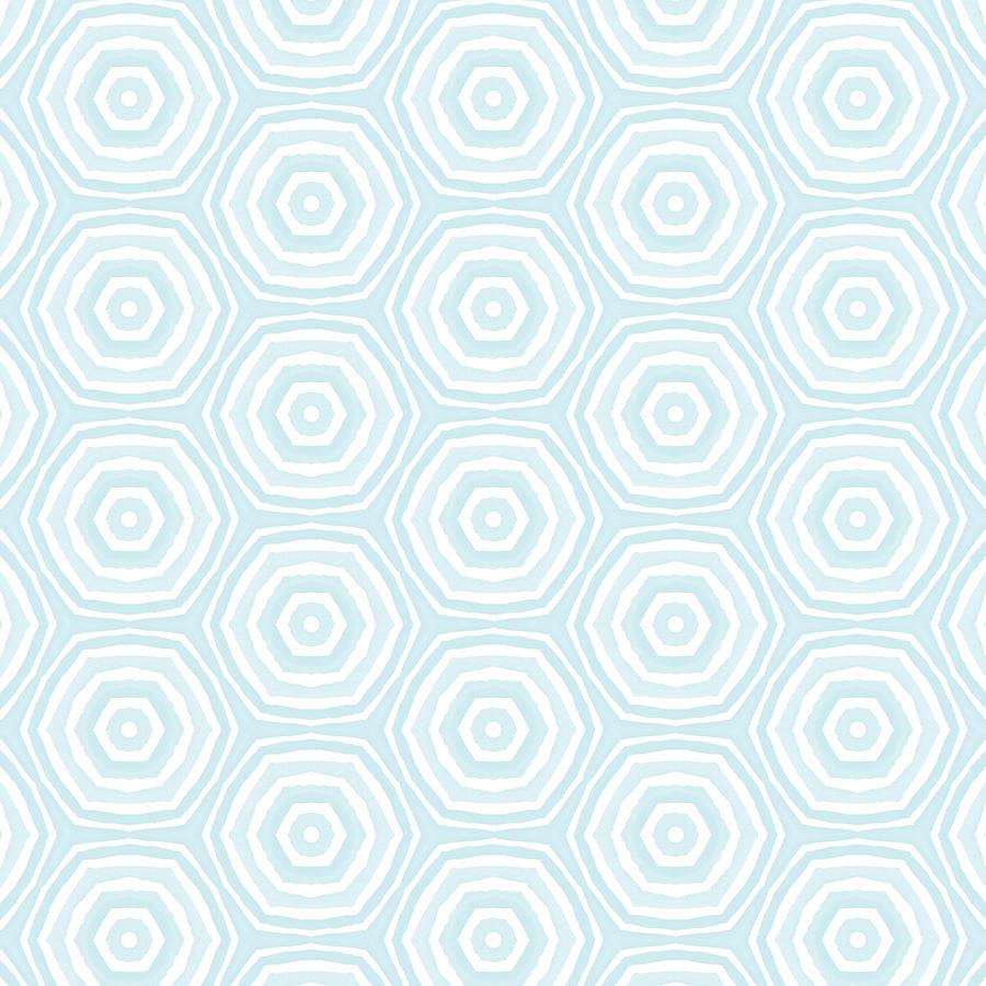 Circles Digital Art - Dip In The Pool -  Pattern Art by Linda Woods by Linda Woods