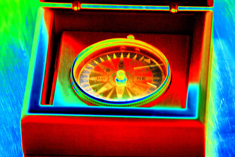Compass Digital Art - Direction by Peter  McIntosh