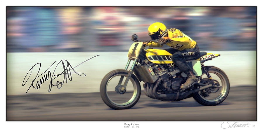 Motorcycle Photograph - Dirt Speed by Lar Matre