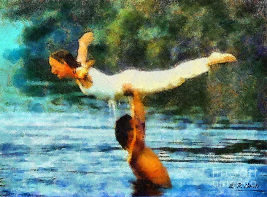 Dirty Dancing Painting by Elizabeth Coats