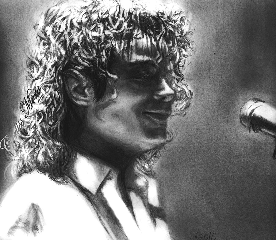 Mj Drawing - Dirty Diana by Carliss Mora